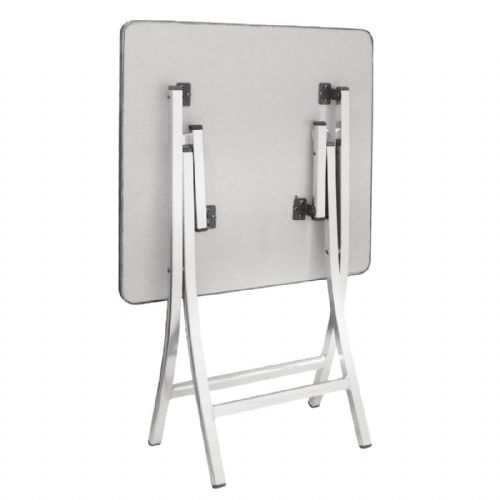 Bolero Square Bistro Folding Table 600mm - GK990